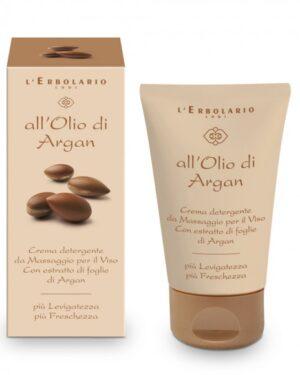 crema detergente da massaggio per il viso