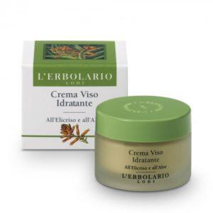 Crena viso Idratante all'elicriso e all'aloe. 50 ml