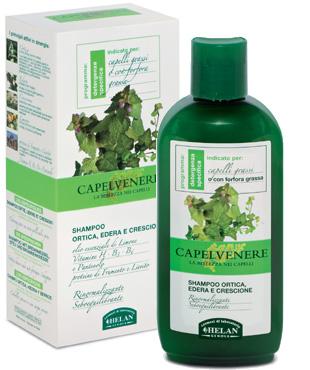 shampoo ortica edere crescione