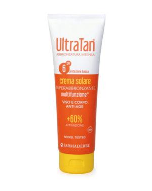 ultra tan spf 6 crema multifunzione