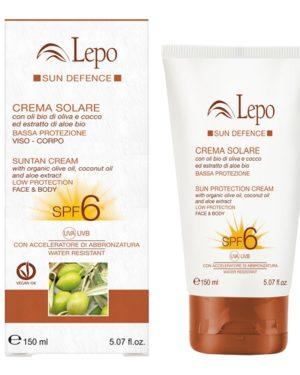 crema solare spf 6