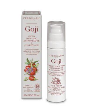 crema viso antiossidante e compattante